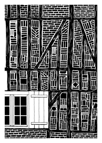 Beauvais, Colombages et briques 1