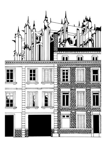 Beauvais, Rue Jean Racine 1