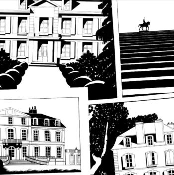 Série Chateaux et jardins